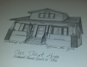 Syracuse New York House Drawing