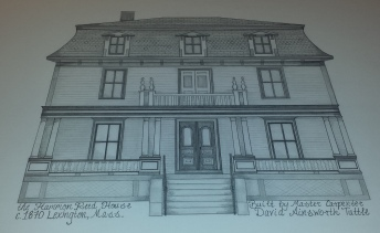 Massachusetts House Drawing