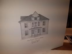 Shelbina, MO house drawing